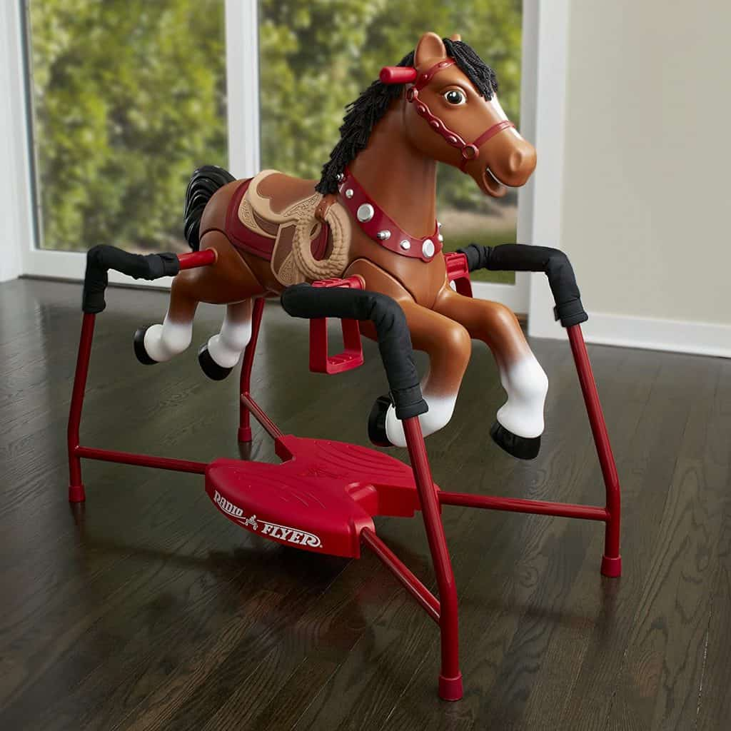 Radio Flyer Blaze Interactive Riding Horse