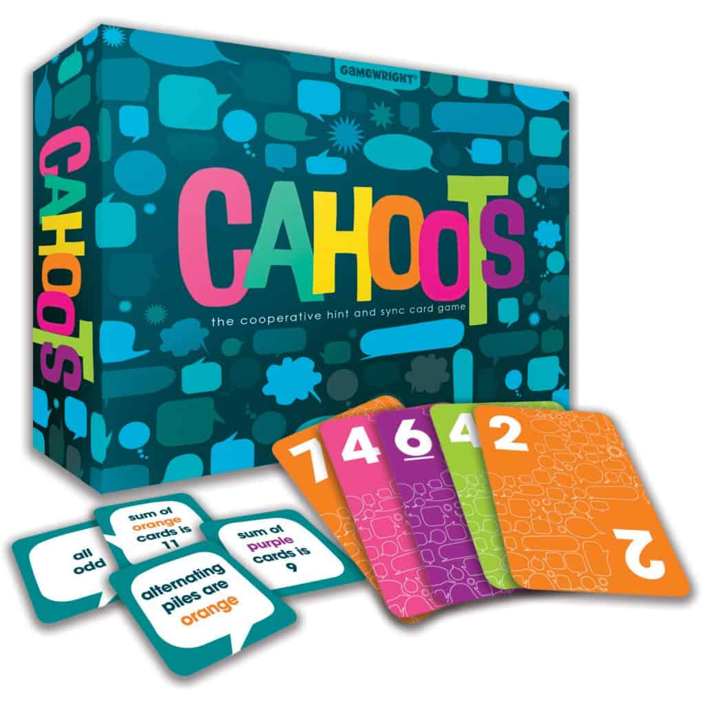 Cahoots – the Cooperative Hint and Sync Card Game