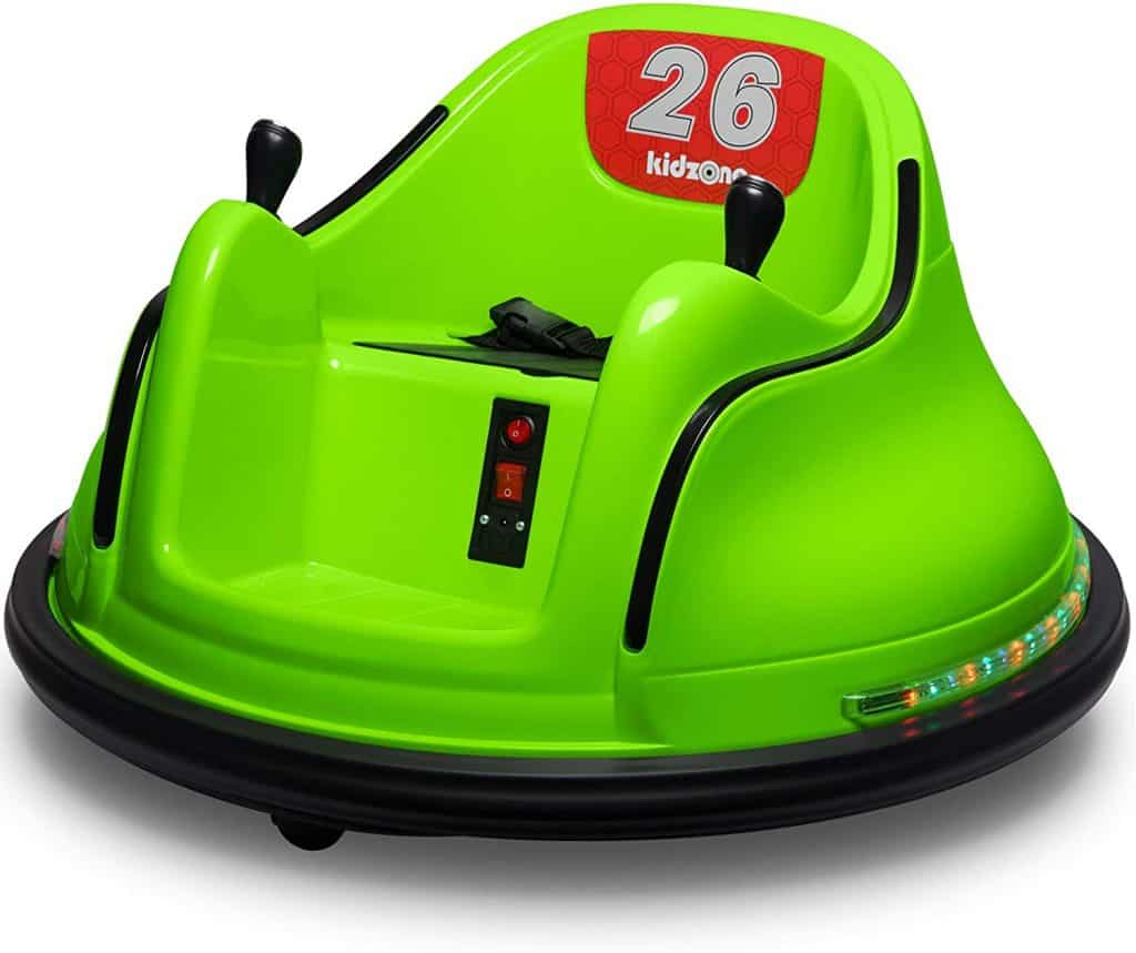 Kidzone DIY Race #00-99 6V Kids Toy Electric Ride On Bumper Car