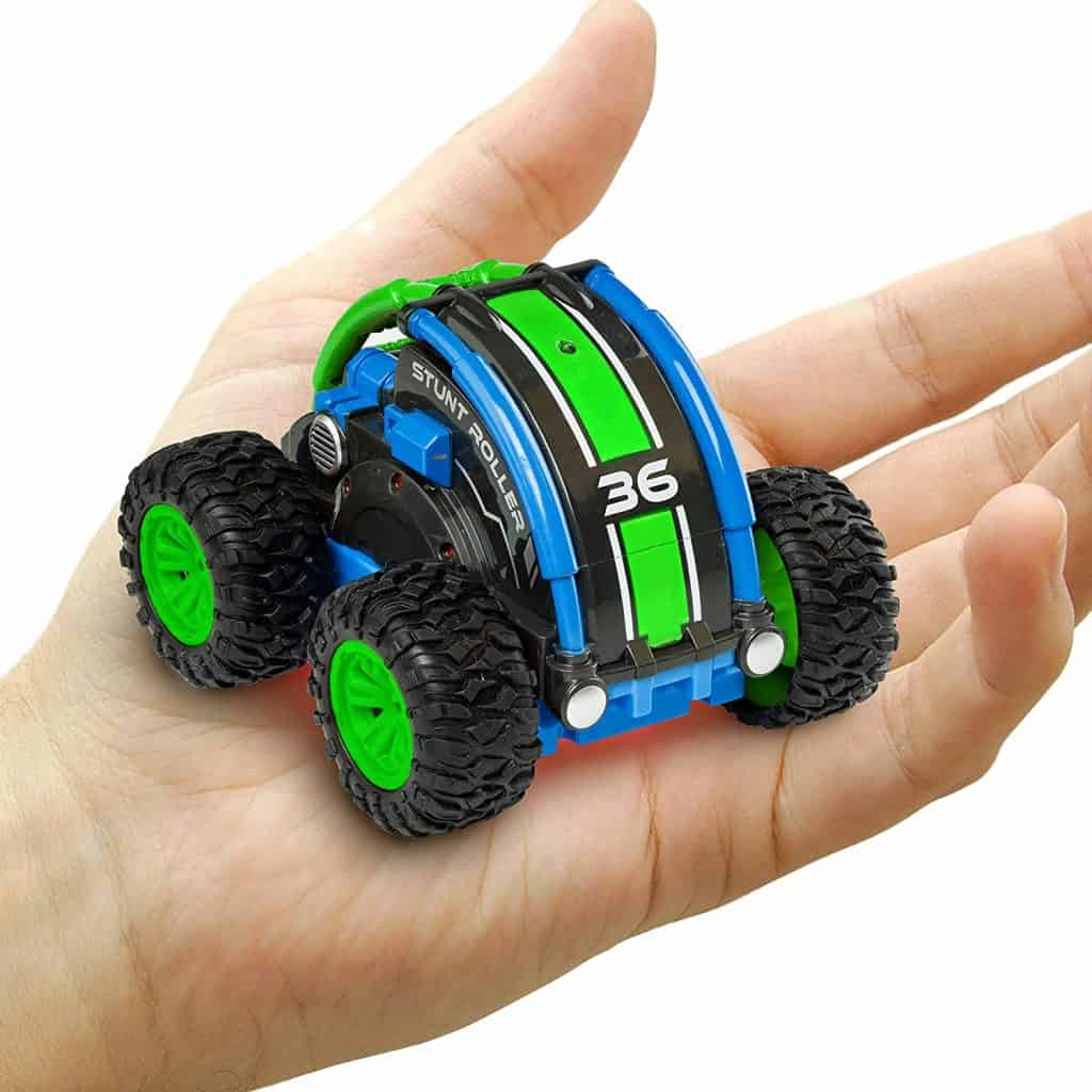 Power Your Fun Stunt Roller Mini Remote Control Car for Kids