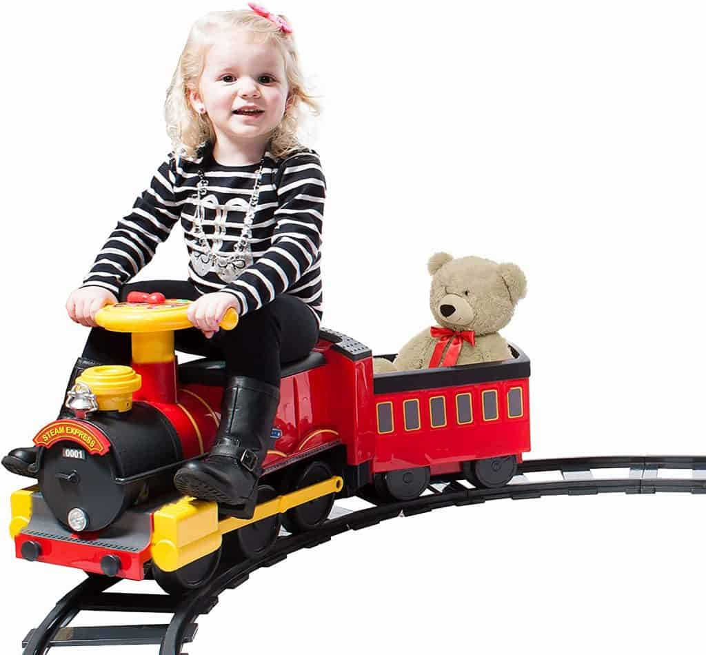 Rollplay Steam Train 6-Volt Battery-Powered Ride-On