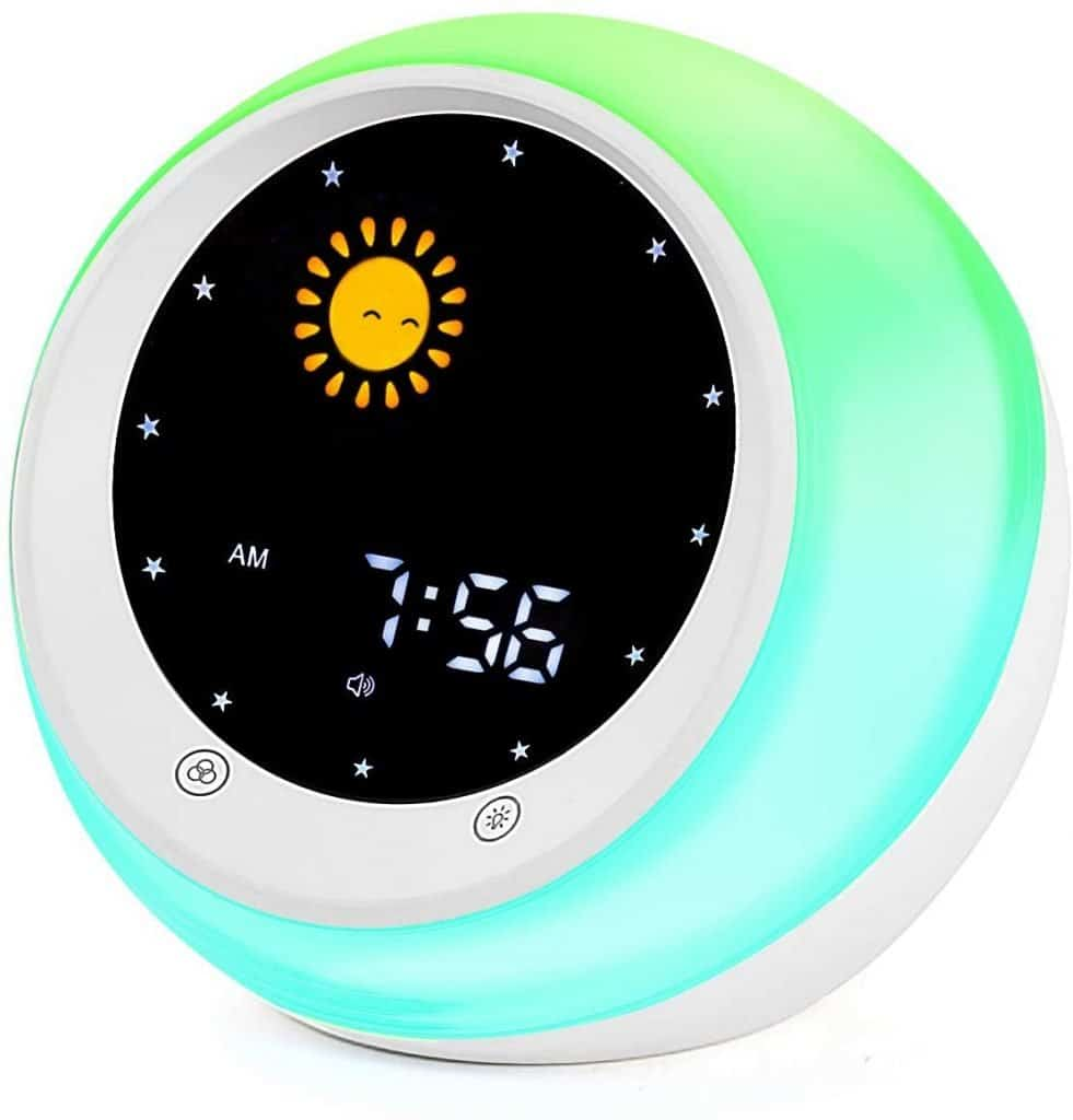 Sun & Moon Rise Kids Alarm Clock