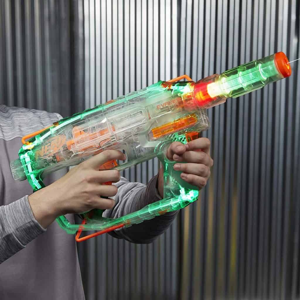 Evader Modulus Nerf Motorized Light-Up Toy Blaster