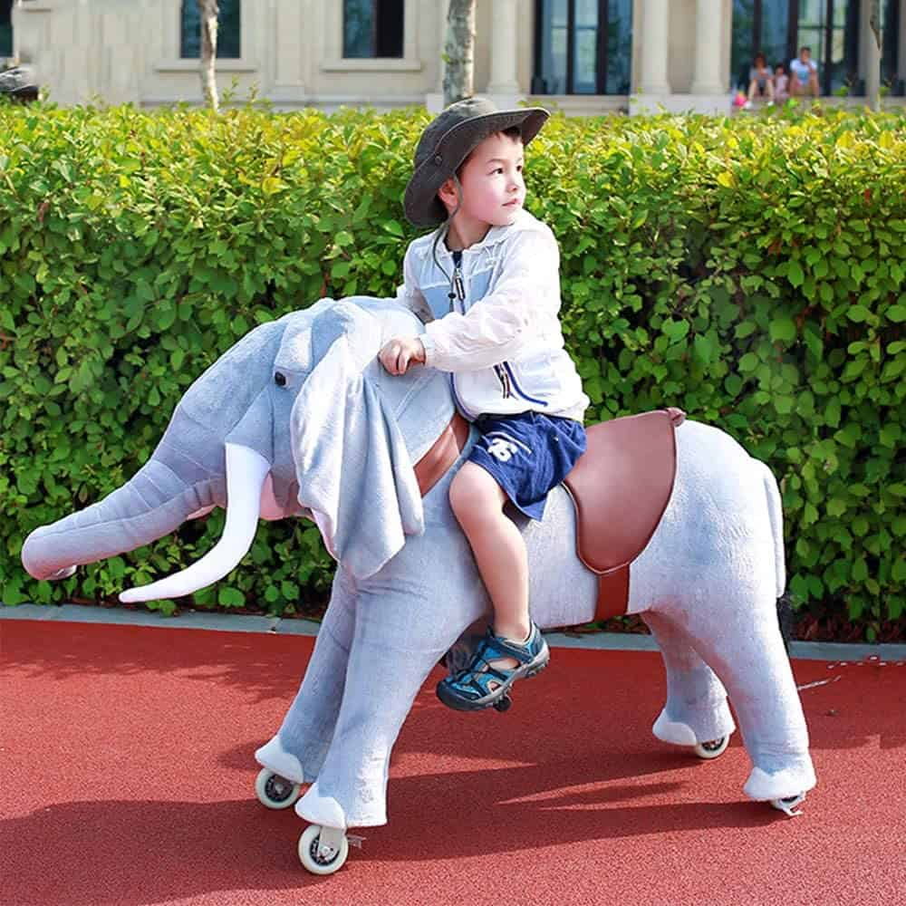 Gidygo Kids Ride on Mini Elephant