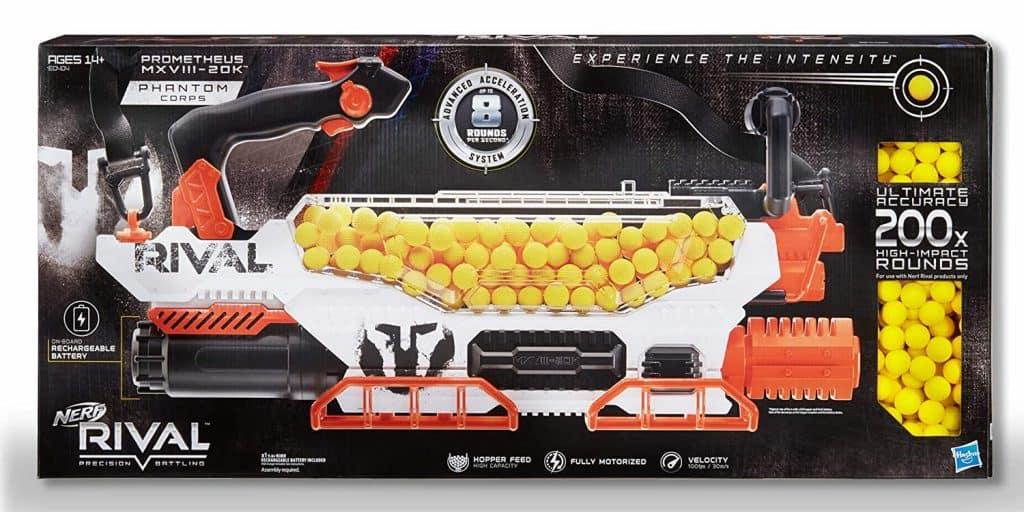 Best Automatic NERF Gun: Nerf Rival Prometheus MXVIII-20K