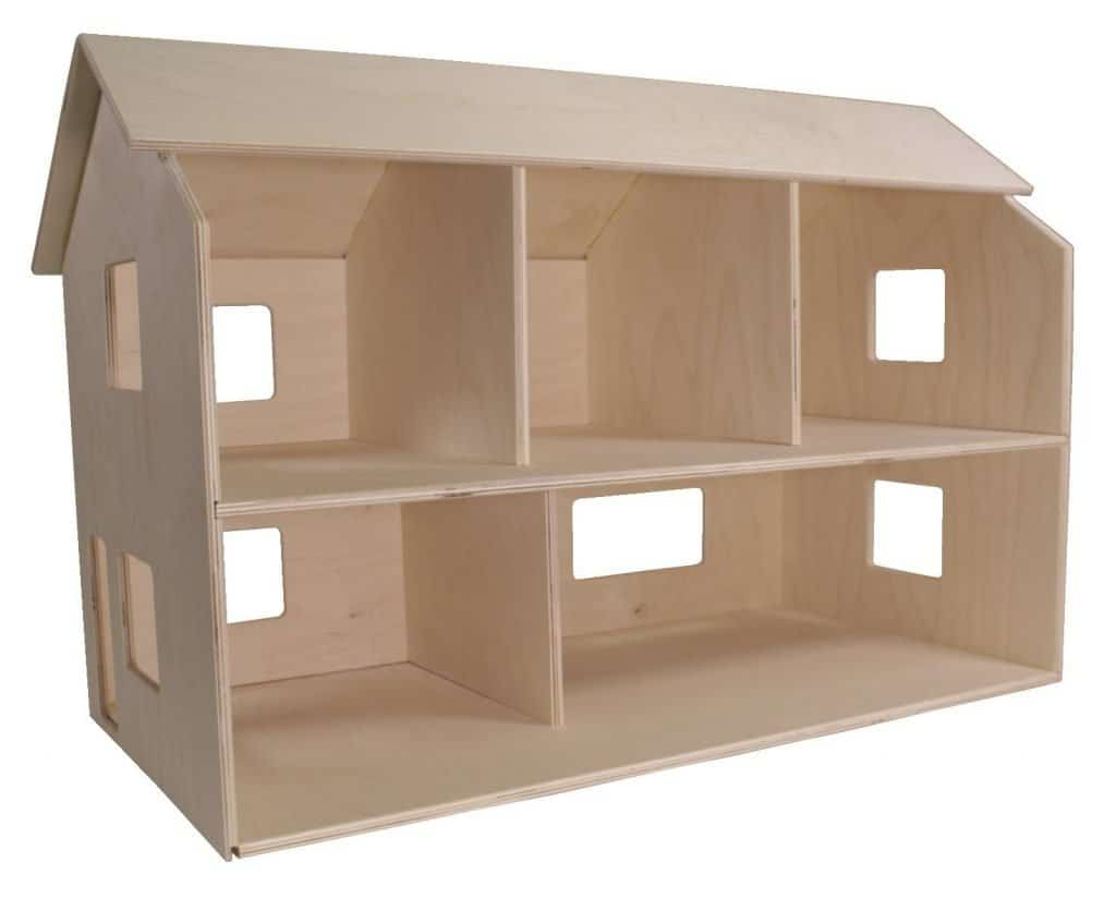 Best Dollhouse for Toddlers: Childcraft 252363 Classic Dollhouse