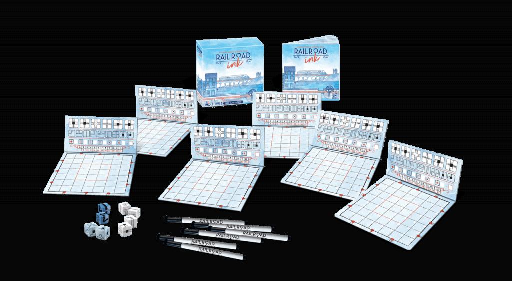 Horrible Games Railroad Ink: Deep Blue Edition