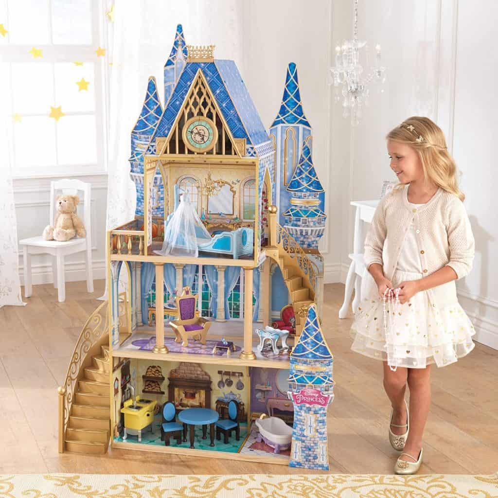 KidKraft 65400 Disney Princess Cinderella Royal Dreams Dollhouse