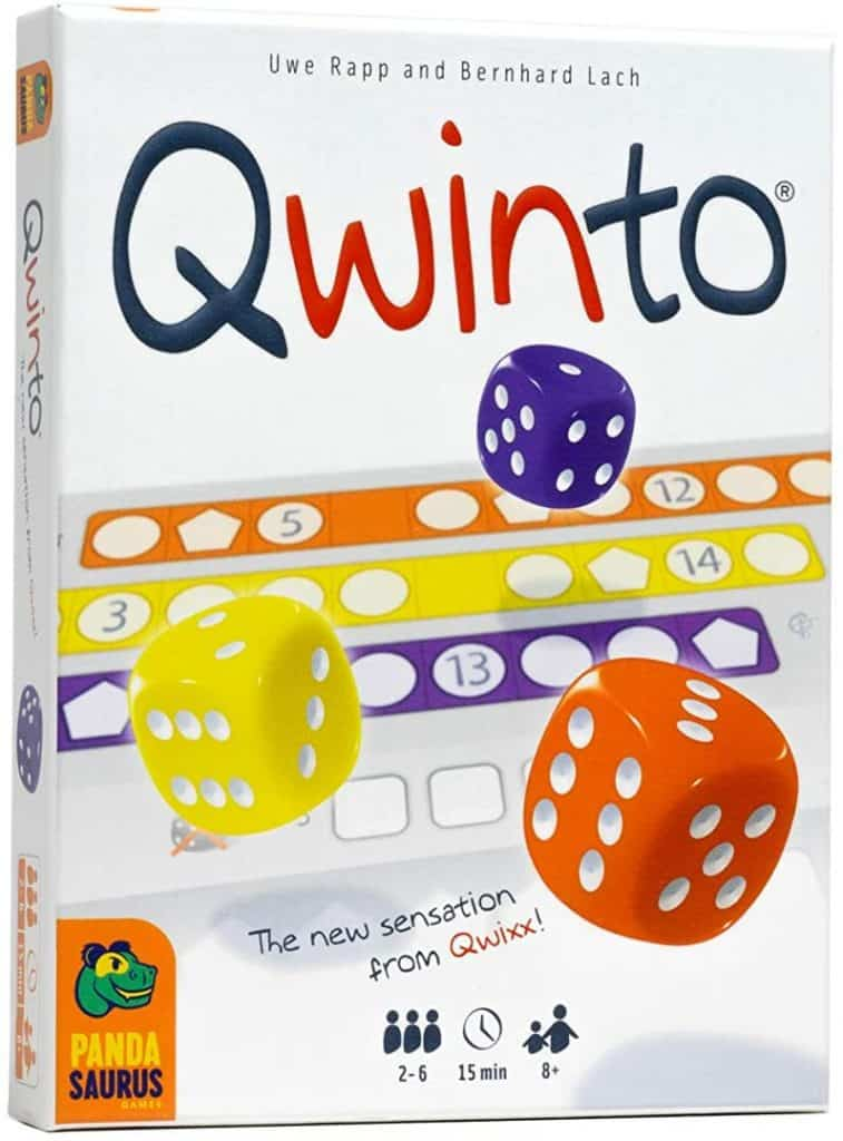Qwinto Dice Game
