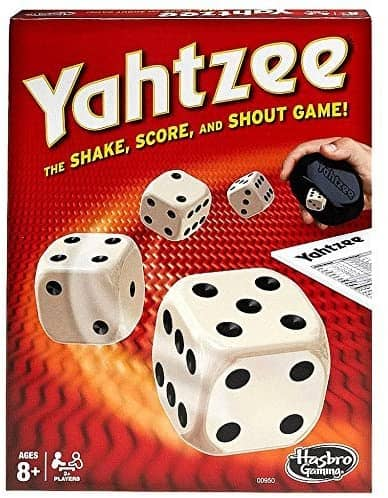 Best Roll and Write Games: Yahtzee