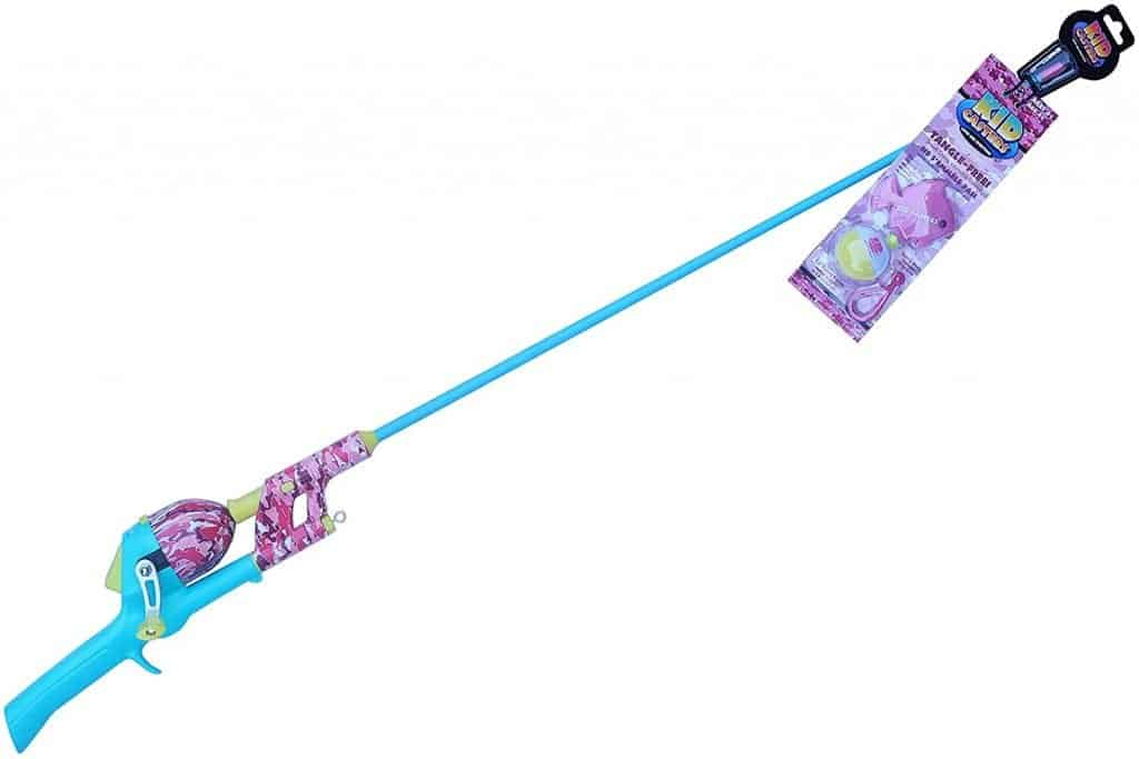 Kid Casters 34IN Tangle-Free Youth Kids Fishing Pole