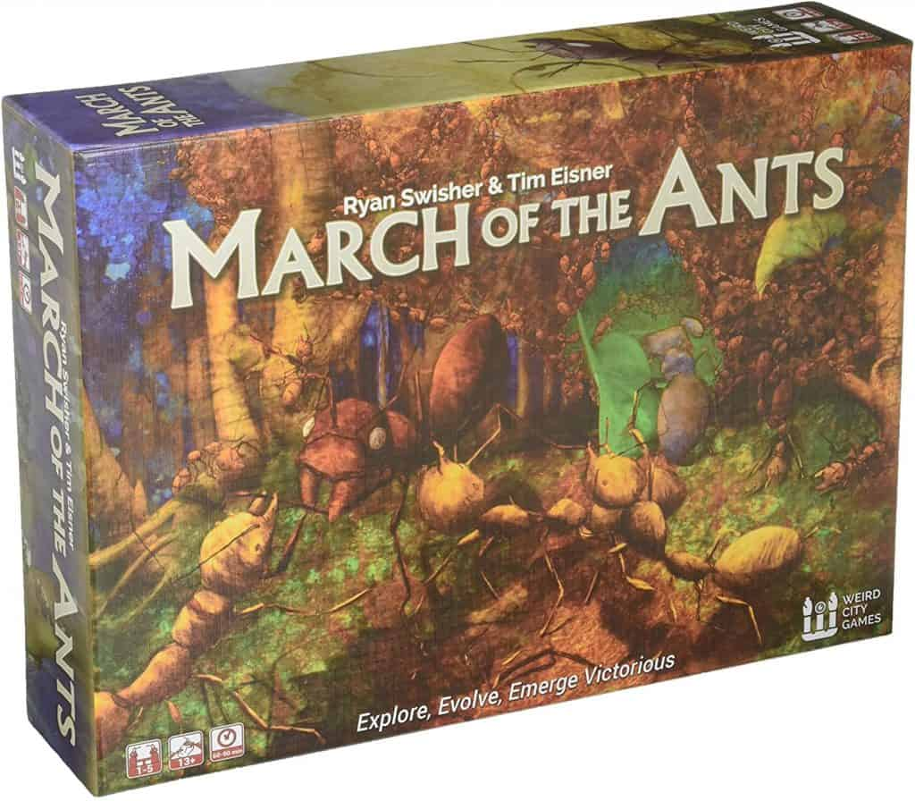 March of The Ants Strategy Board Game