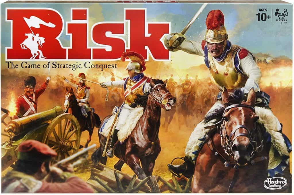The best 5-player board games: Hasbro Risk Game