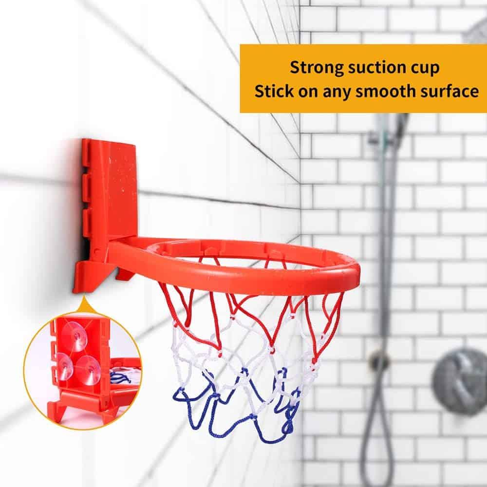 Hely Cancy Bathtub Basketball Hoop for Kids