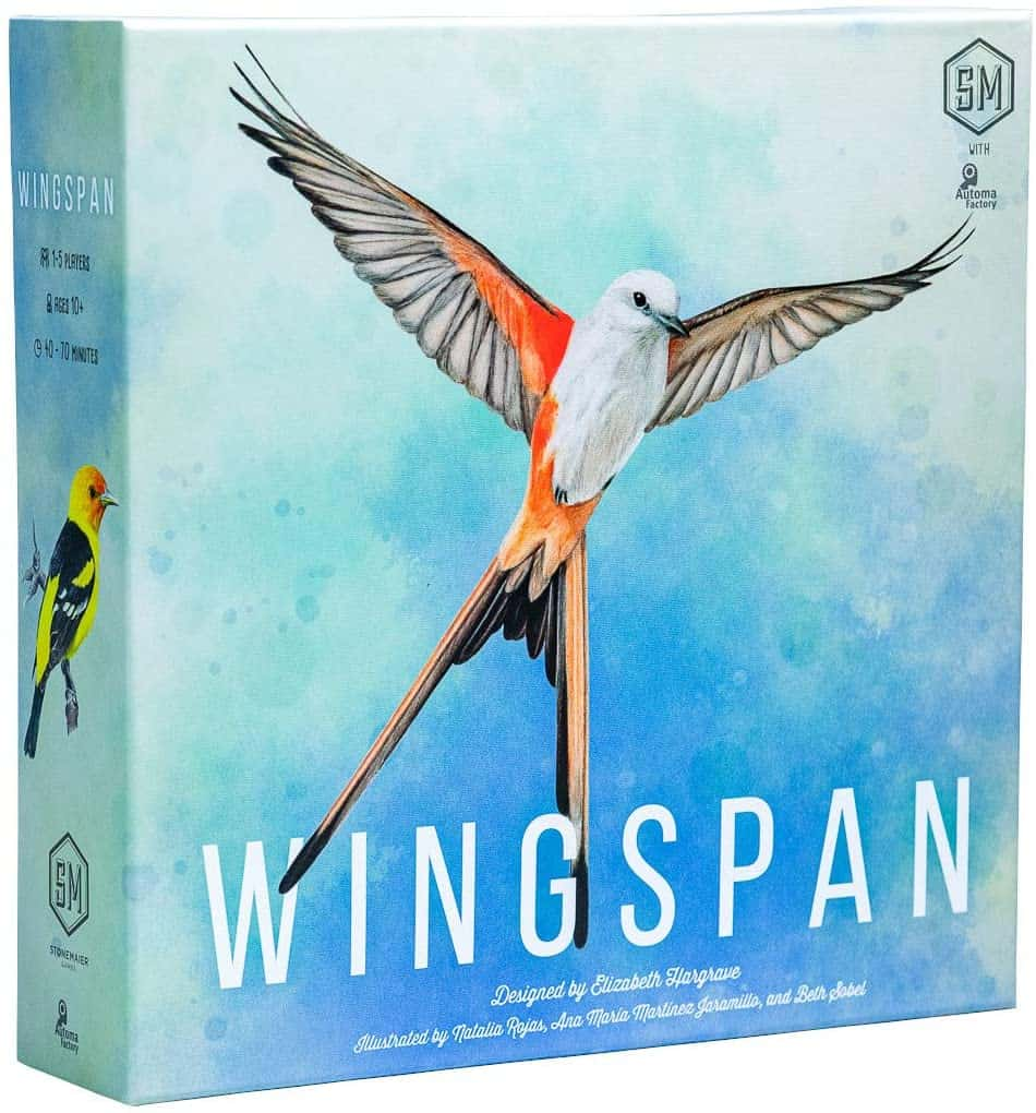 The best 5-player board games: Wingspan