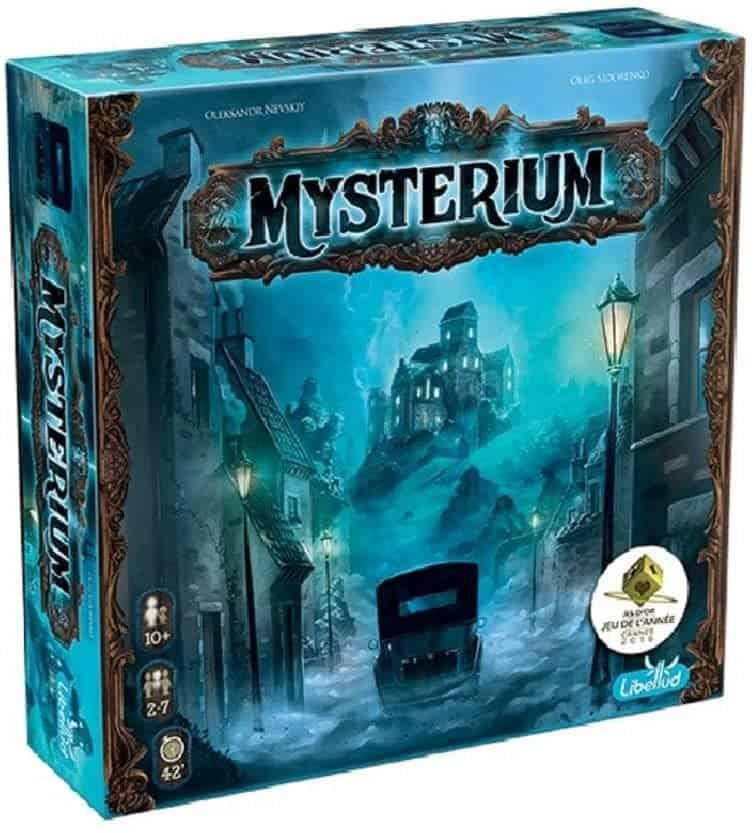 Best Co-op Board Games: Mysterium