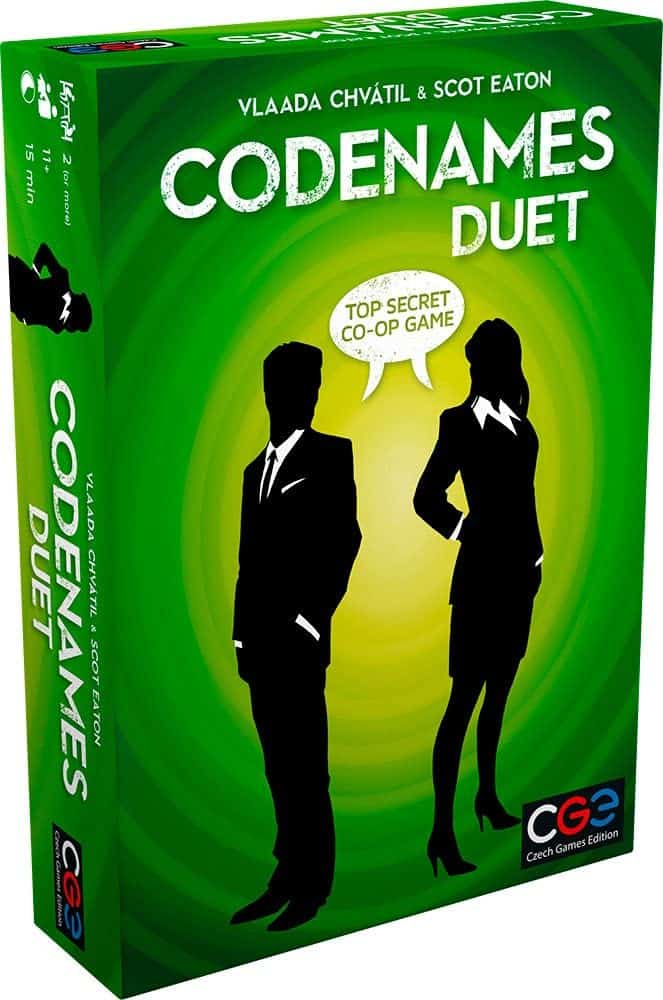 Best Co-op Board Games: Codenames: Duet - The Two Player Word Deduction Game