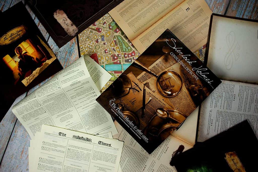 Sherlock Holmes Consulting Detective - The Thames Murders & Other Cases Board Game
